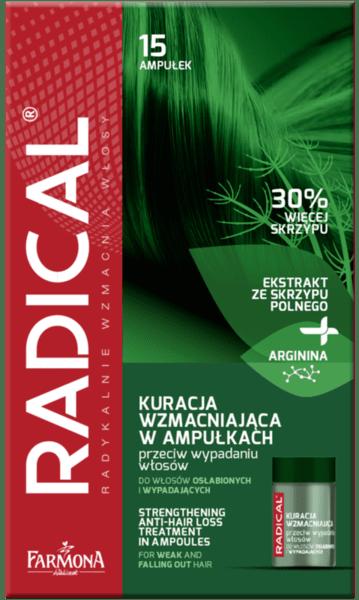 Kомплекс за стимулиране на растежа на косата без отмиване Farmona Radical